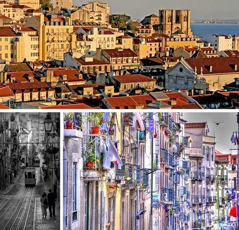 Lisabona Pilsēta Portugālē... Autors: Fosilija Pasaules skaistākās senās pilsētas