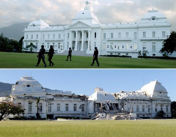 Prezidenta pils pēc... Autors: UglyPrince Zemestrīce Haiti