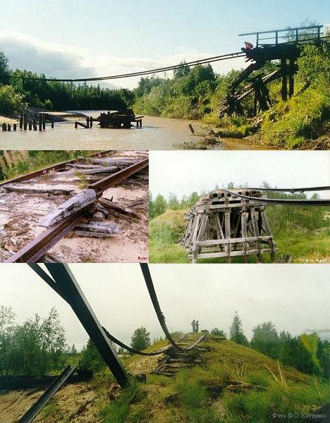 pamests dzelzceļš Autors: coldasice Ražots un aizmirsts PSRS.