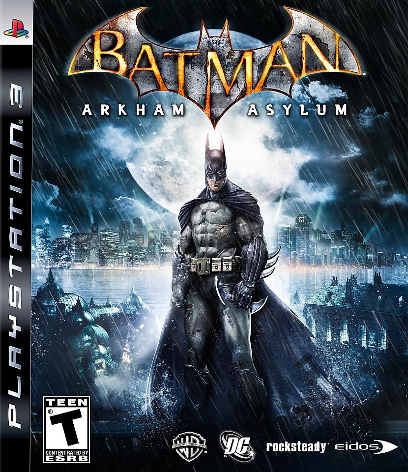 Batman Arkham Asylum Autors: Area51 2009 gada PC Spēļu Top 10