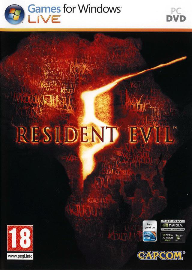 Resident Evil 5 Autors: Area51 2009 gada PC Spēļu Top 10