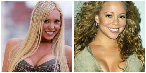 sākot ceļu pa karjeras kāpnēm ... Autors: Fosilija Mariah Carey=pornstar??
