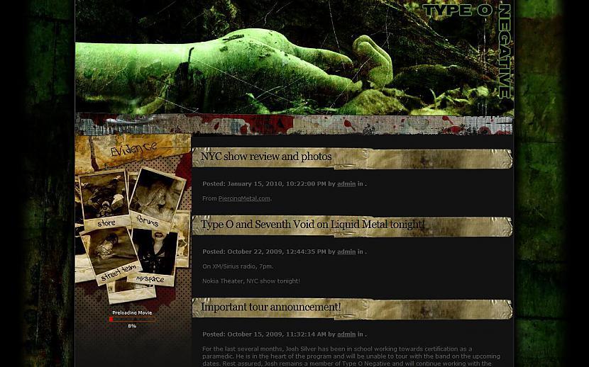 TYPE O NEGATIVE... Autors: Liver Mūziķu / muzikālo apvienību mājas lapas
