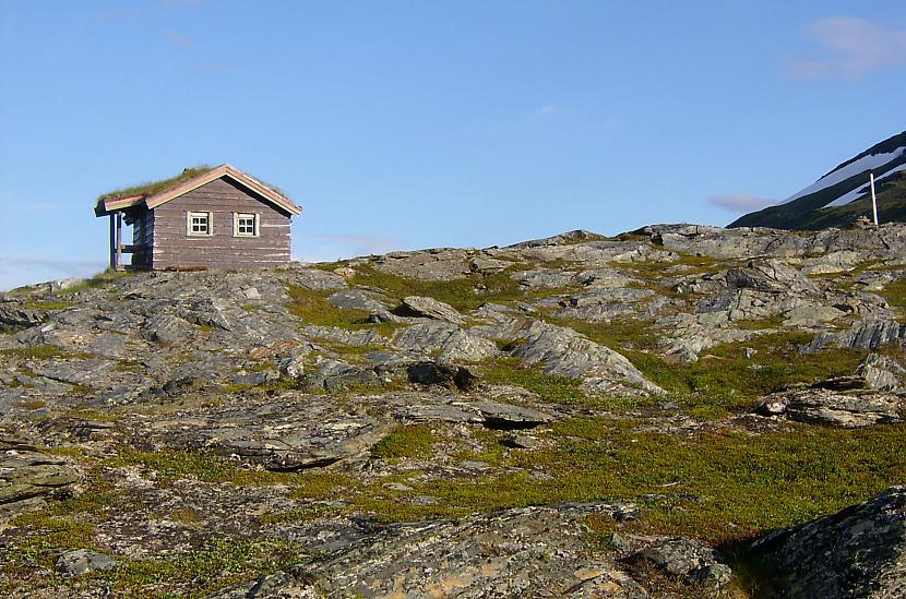 Vientuļa mājele kalnos aiz... Autors: aivarsm Manas atmiņas par Skandināviju