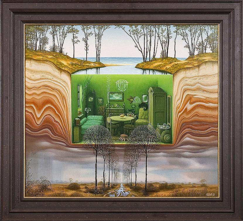 aquarium  jacek yerka Autors: Fosilija sirreālisma nekad nebūs par daudz.