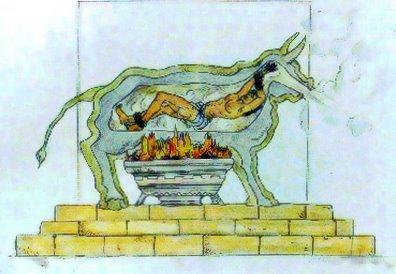 The Brazen Bull  nolemtais... Autors: ecko top spīdzināšanas veidi viduslaikos
