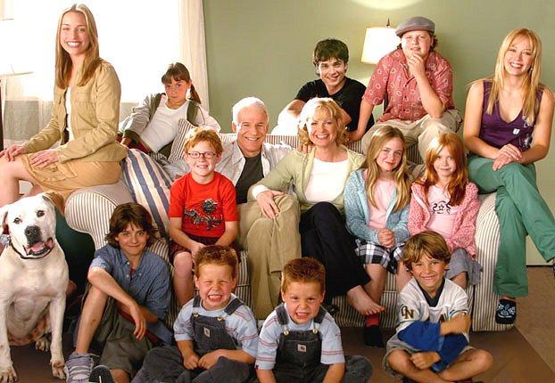 Visa Beikeru ģimene kopā Autors: MazulisPonijs Filmas ''Ducis ir lētāk'' aktieri