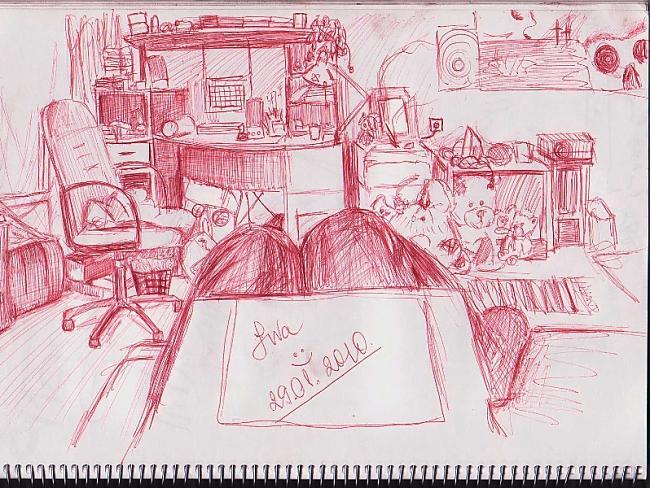Mana istaba tagad xD Autors: Karmena Izlaide