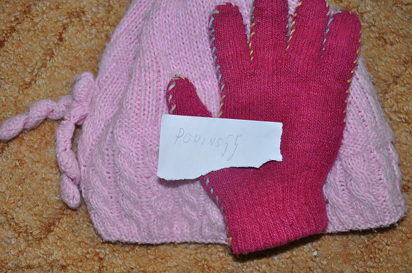 Autors: heh Rozā cimds ar rozā cepuri