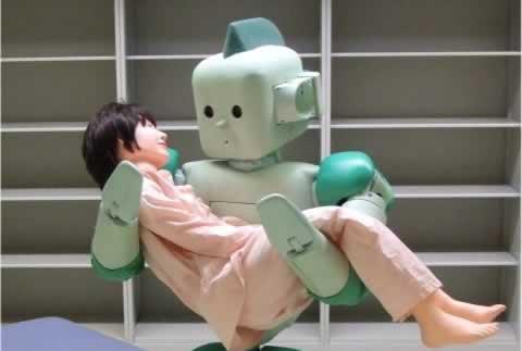 Robots 039039RIMAN039039 ir... Autors: The chosen one Interesantie roboti.
