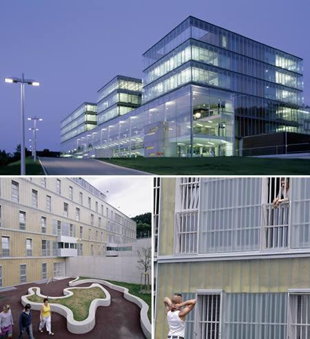 Juzzsizentrum Leoben cietums... Autors: Fosilija Pasaules 10 divainakie cietumi