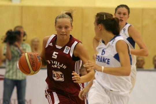 Sabīne Niedola Autors: tozaya Basketbola meitenes U-20