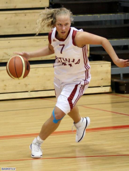 Anete Klinstone Autors: tozaya Basketbola meitenes U-20