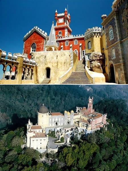 Palacio da Pena Senākā pils ko... Autors: Grandsire 10 Fascinējošas Pilis