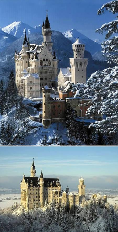 Neuschwanstein Castle... Autors: Grandsire 10 Fascinējošas Pilis