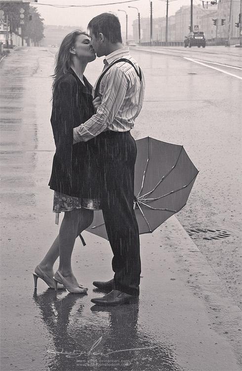 14 Skūpstīties lietū  15239... Autors: Fosilija Cilvēku populārākās vēlmes/mērķi