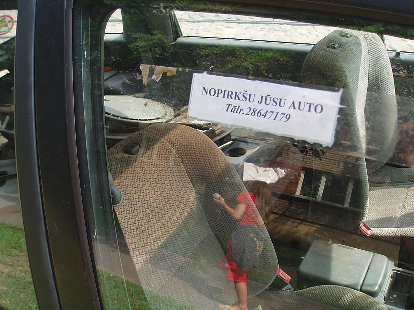 Autors: Endīī Labākais veids,kā reklamēt to,ka grib nopirkt auto.