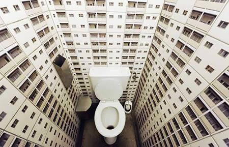 Šeit ar pašu tualeti viss ir... Autors: carlsberg pasaules interesantākās tualetes
