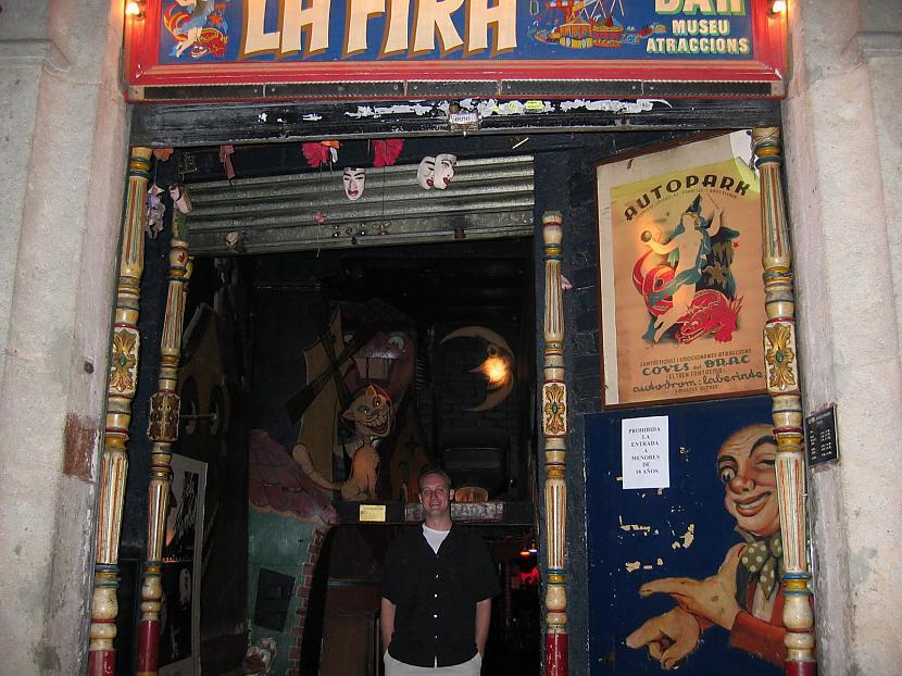 La Fira Barselona Spānija... Autors: Lieniitee Unikāli naktsklubi.