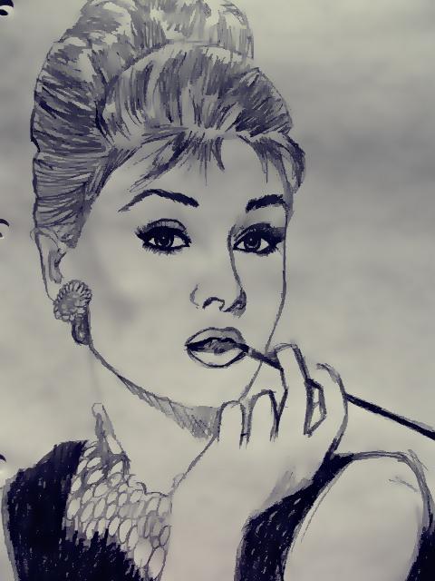 Tad bija Odrija Hepburna kura... Autors: Floresia Ar laiku.