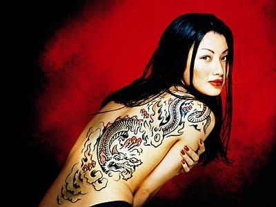 Īpaši bīstams pūķa tetovējums... Autors: Jenkijs Pūķu tetovējumi un to nozīme