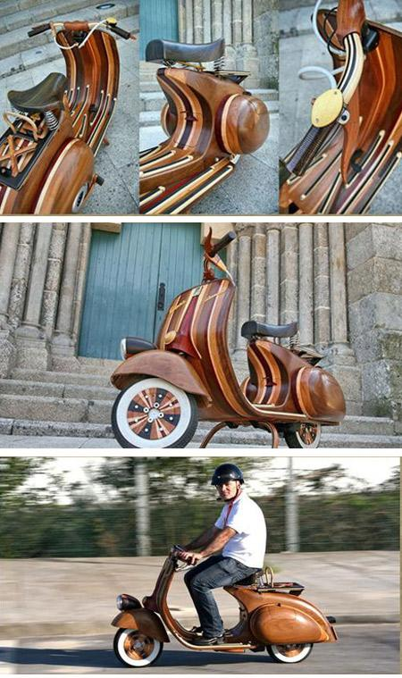 Wooden Vespa Carlos Alberto a... Autors: Booyakah Izstradajumi no koka