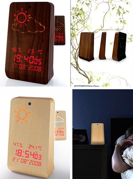 WoodStation Alarm Clock The... Autors: Booyakah Izstradajumi no koka