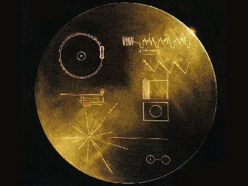 Tāpat abiem Voyager kosmosa... Autors: ainiss13 Kosmosā nosūtīts ziņojums citplanētiešiem