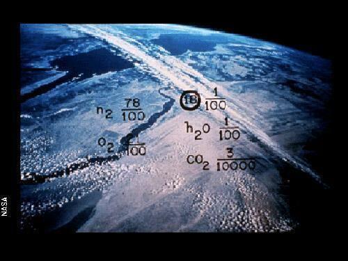 Zemes atmosfēras svarīgāko... Autors: ainiss13 Kosmosā nosūtīts ziņojums citplanētiešiem