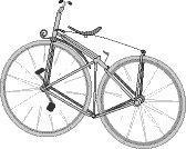 1869gads  Pirmais velosipēds... Autors: shrick Velo vēsture