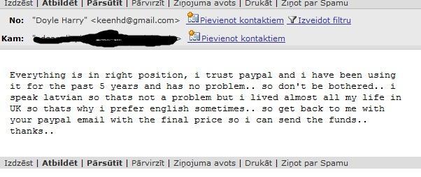 TulkViss ir kārtībā es uzticos... Autors: neko Krāpniecība caur ZIP.lv (atjaunots)