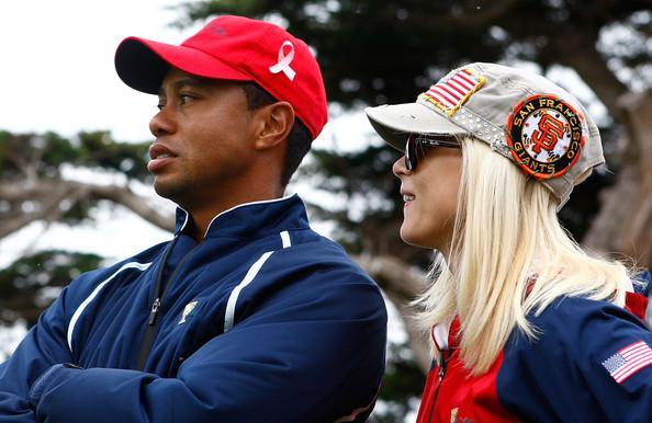 Tiger Woods un Elin Nordegren Autors: princeSS /Kuras slavenības 2010 gadā izšķīrušās?/