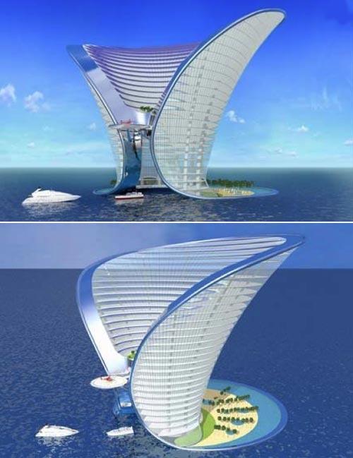 The Apeiron hotelŠī 7 zvaigžņu... Autors: XereX Megaprojekti: Dubaja 2. daļa