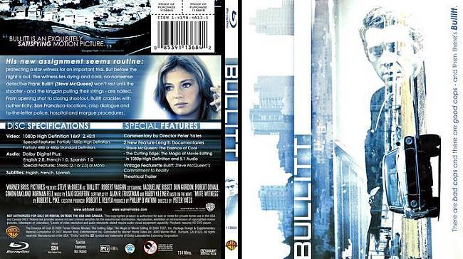 Bullit1968San Francisko... Autors: Pirāts 20. gs labākās filmas!