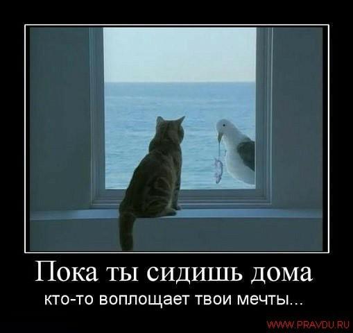 Kamer tu sēdi mājās kāds cits... Autors: Parādi PuPus DemotivĀtorīīī***