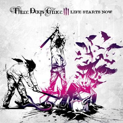 quotLife Starts Nowquot kovers Autors: Ziich 3DG - Three Days Grace (Rock)