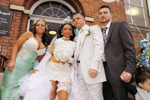 Lepnie līgavas vecāki Arī... Autors: sincahi bezgaumīgākās kāzas