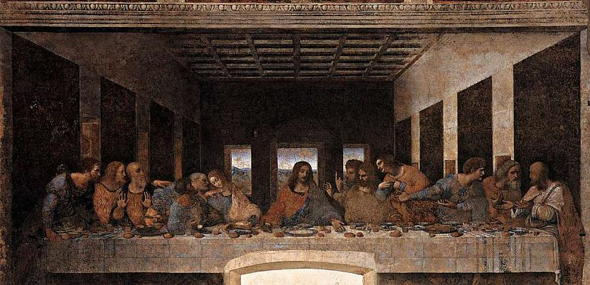 Last supper Autors: Fosilija Leonardo da Vinči
