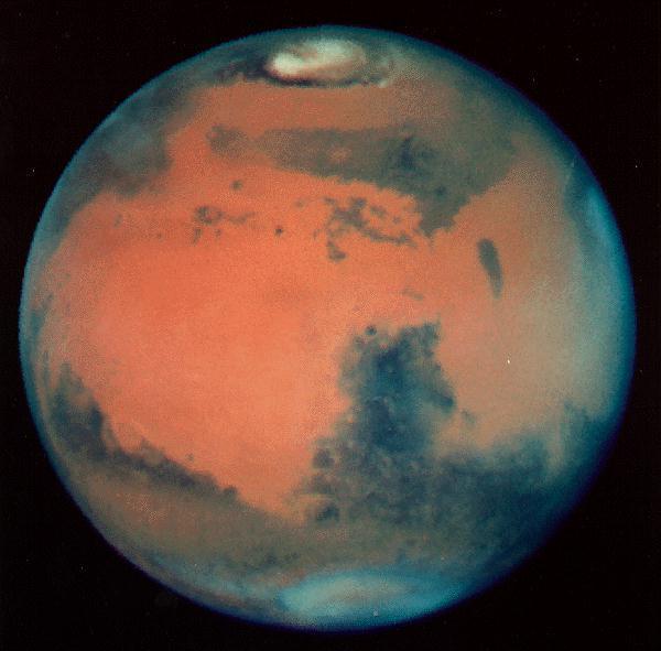Marss ir aptuveni divas reizes... Autors: ugunīgāā Fakti par saules sistēmu.