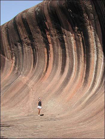 Austrālijas viļņu robi nbsptas... Autors: Optimists NaCl Ģeoloģiskie pasaules brīnumi...