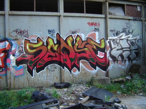 Sense  vot šitas man ļoooti... Autors: Ruudiiz Rīgas Populārākie Graffiti Zīmētāji 2