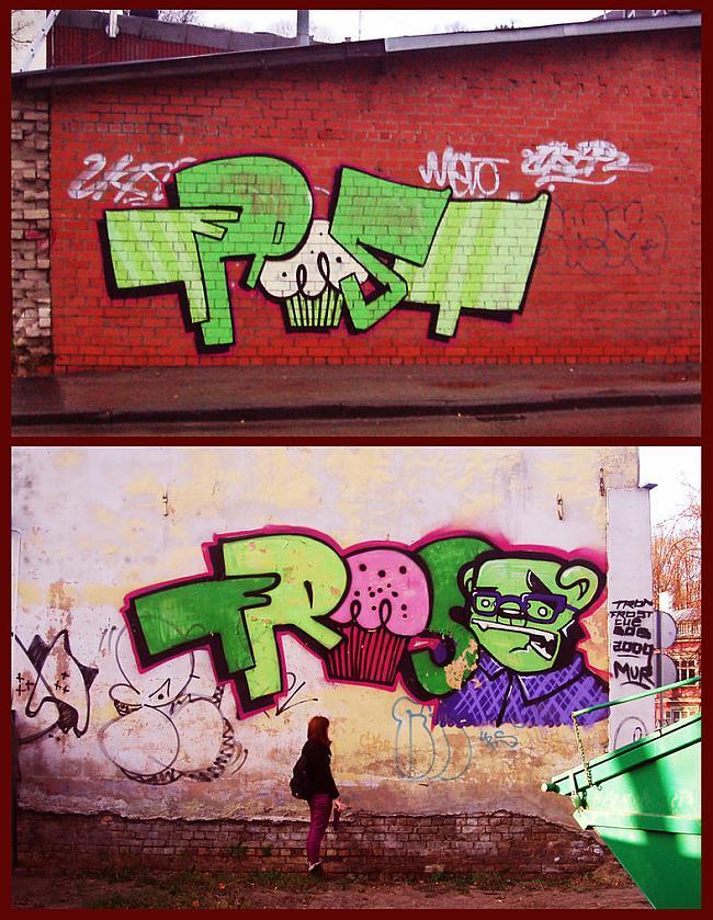 Frost  Muffins  Super zīmētājs... Autors: Ruudiiz Rīgas Populārākie Graffiti Zīmētāji 2