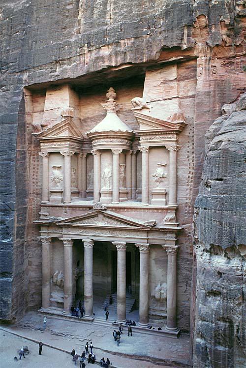 Petra ir bez šaubām Jordānijas... Autors: Sindikāts 7 Pasaules Brīnumi