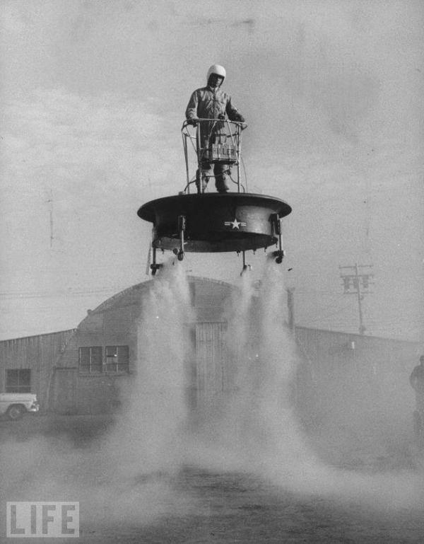 """1956 Lidojošā platforma Autors: Lavruhins Reiz tas bija """"ūnikums""""...3"""