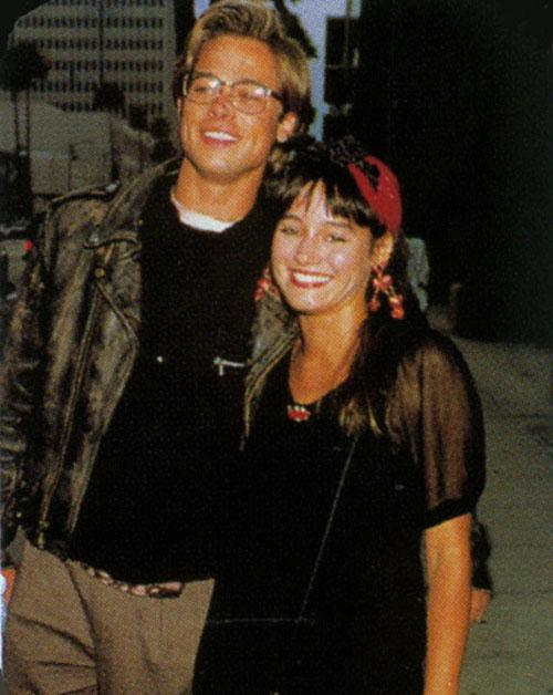1989 gadā Breds satikās ar... Autors: Veruschka Sievietes Breda Pita dzīvē