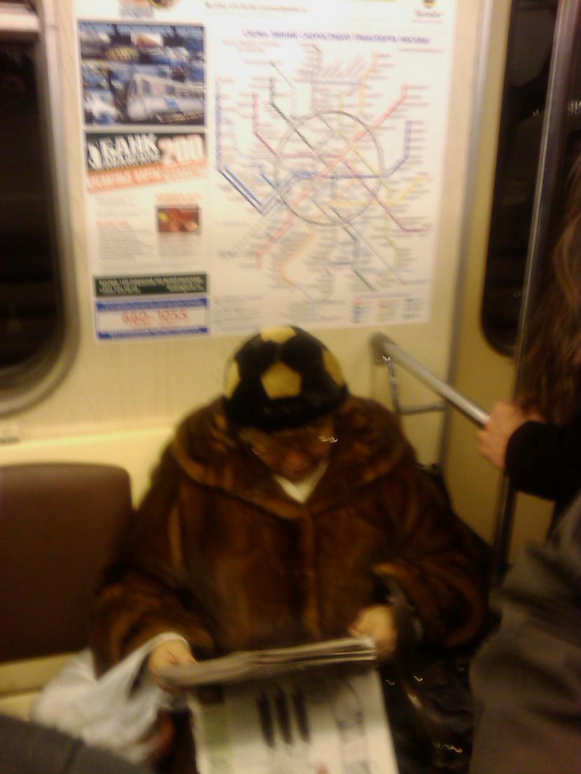 Brauc ar metro Autors: Runcendorfs Maskavā patiešām mīl futbolu
