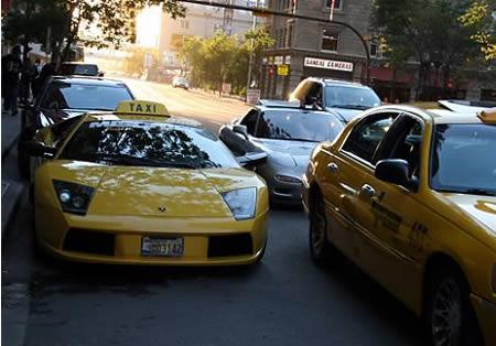 Vajag šķērsot pilsētu ļoti... Autors: Fosilija Krutākie takši pasaulē.