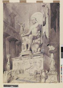 3 Zeva statuja OlimpijāZeva... Autors: lacukstedy 7 pasaules brīnumi