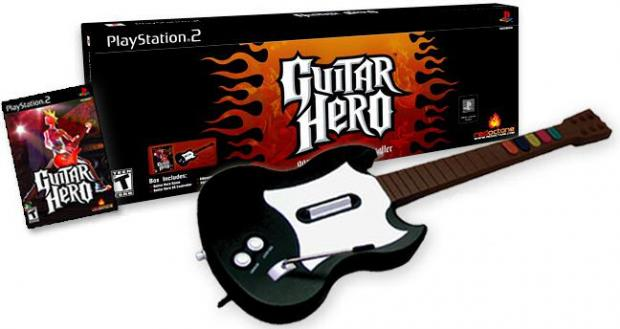playstation2 iepakojums Autors: kleksis Guitar hero