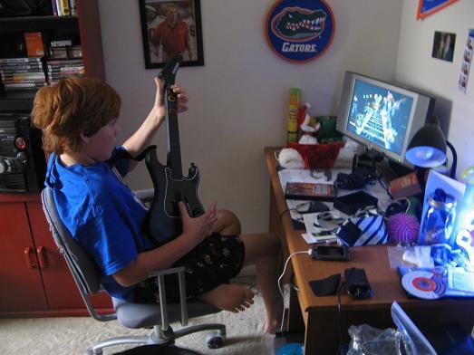 Autors: kleksis Guitar hero